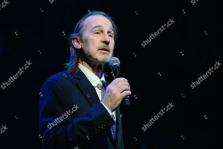 Stock Picture of A. Whitney Brown emcees the ' Christopher Cross, Eric Johnson & Monte Montgomery In Concert for People's Community Clinic' at the Paramount Theatre