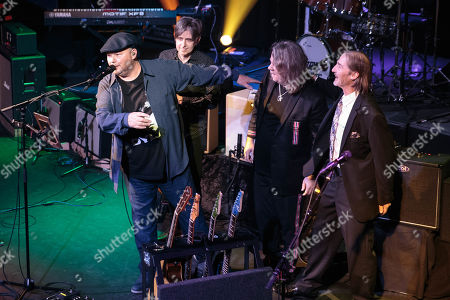 Eric Johnson, Christopher Cross, Monte Montgomery, and A. Whitney Brown In Concert for People's Community Clinic at the Paramount Theatre
