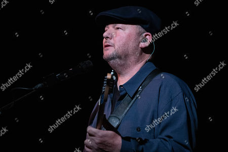 Musician Christopher Cross performs at the ' Christopher Cross, Eric Johnson & Monte Montgomery In Concert for People's Community Clinic' at the Paramount Theatre