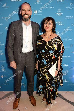 Editorial photo of Mayfair Community Awards, Claridges, London, UK - 21 Jan 2019