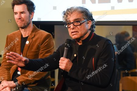 Blake Mycoskie and Deepak Chopra