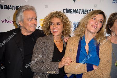 (left to right) Pierre Arditi, Valeria Golino and Valeria Bruni Tedeschi