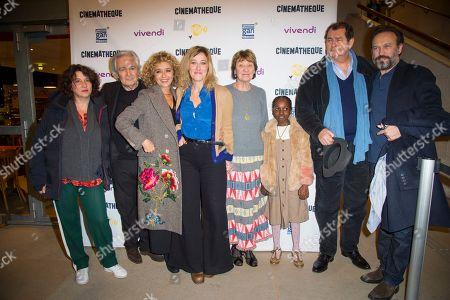 Noemie Lovsky, Pierre Arditi, Valeria Bruni Tedeschi, Valeria Golino, Marisa Borini, Vincent Perez and guests