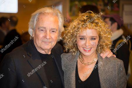 Pierre Arditi and Valeria Golino
