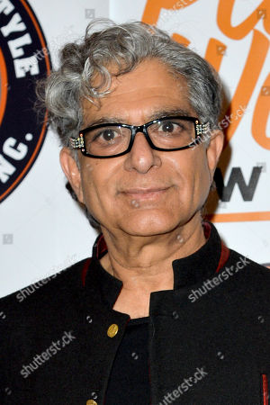Stock Picture of Deepak Chopra