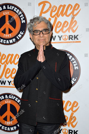 Stock Photo of Deepak Chopra
