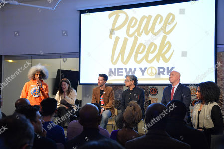 Editorial image of Peace Week Town Hall, New York, USA - 21 Jan 2019