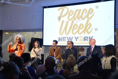 Editorial photo of Peace Week Town Hall, New York, USA - 21 Jan 2019