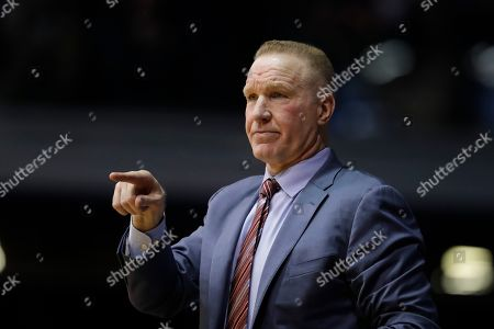 St. John's head coach Chris Mullin in action during the first half of an NCAA basketball game against Butler, Indianapolis