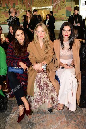Georges Hobeika show, Front Row, Haute Couture Fashion Week, Paris