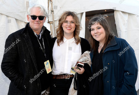 Stock Picture of 30A Promoter Russell Carter with The Secret Sisters - Lydia Rogers and Laura Rogers