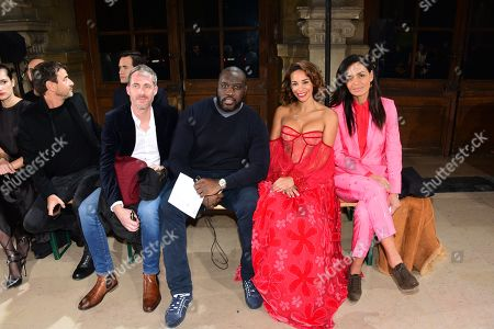 Daniel Camus, Bruse Dombolo, Alicia Fall, Laurence Roustandjee in the front row