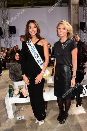 Miss France 2019, Vaimalama Chaves and Sylvie Tellier