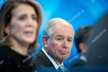 Stephen Schwarzman, Chairman, Chief Executive Officer and Co-Founder of Blackstone, pictured during a panel session¨on the first day of the 49th annual meeting of the World Economic Forum (WEF) in Davos, Switzerland, 22 January 2019. The meeting brings together entrepreneurs, scientists, corporate and political leaders in Davos under the topic 'Globalization 4.0' from 22 to 25 January 2019.