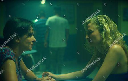 Stock Image of Valeria Golino as Tina and Alba Rohrwacher as Angelica