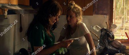 Stock Photo of Valeria Golino as Tina and Alba Rohrwacher as Angelica