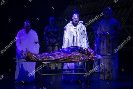 Editorial photo of Thamos, King of Egypt - Salzburg Mozart Week, Austria - 21 Jan 2019