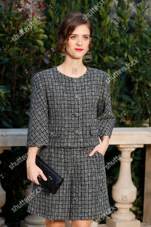 German actres Liv Lisa Fries poses during a photocall before the presentation of Chanel's Spring/Summer 2019 Haute Couture fashion collection presented in Paris, Tuesday Jan.22, 2019