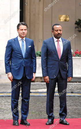 Prime Minister of Ethiopia Abiy Ahmed visit to Italy