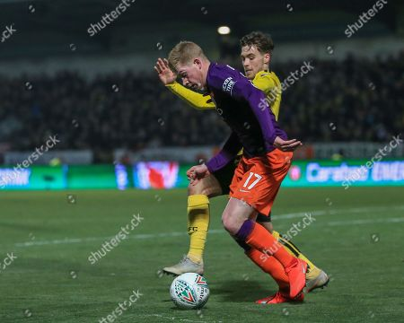 Editorial picture of Burton Albion v Manchester City, EFL Carabao Cup Semi-final 2nd Leg, Football, Pirelli Stadium, Burton, UK - 23 Jan 2019
