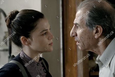 Joy Rieger as Anat Abadi and Sasson Gabai as Shlomo Abadi
