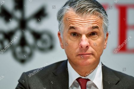 UBS financial results press conference, Zurich