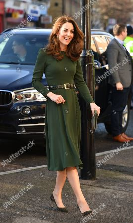 Catherine Duchess of Cambridge visits Family Action, London