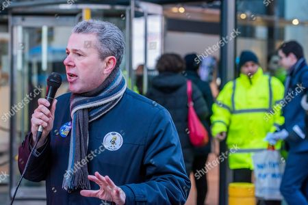 Editorial photo of Department for Business, Energy and Industrial Strategy workers strike, London, UK - 22 Jan 2019