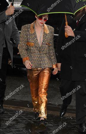 Chanel show, Arrivals, Haute Couture Fashion Week, Paris