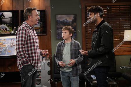 Tim Allen as Mike Baxter, Jet Jurgensmeyer as Boyd and Jordan Masterson as Ryan Vogelson