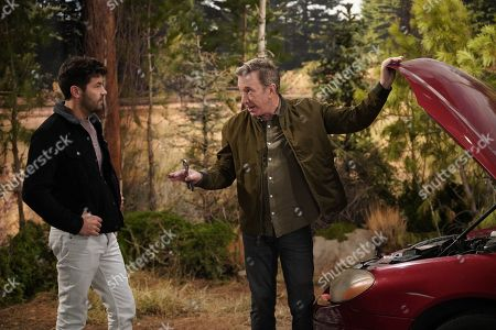Jordan Masterson as Ryan Vogelson and Tim Allen as Mike Baxter