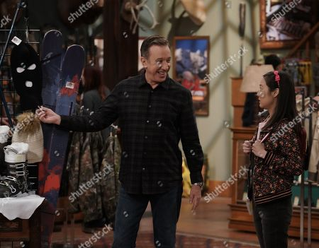 Tim Allen as Mike Baxter and Krista Marie Yu as Jen