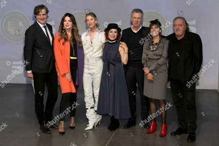 Editorial image of 'Island of the Famous' photocall, Milan, Italy - 22 Jan 2019