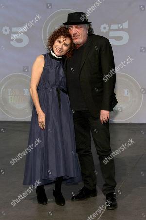 Alda D'Eusanio and Roberto Cenci