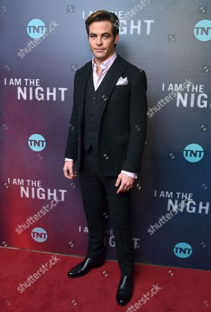 'I Am The Night' TV show premiere, Arrivals, New York