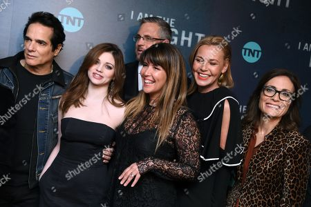 Yul Vazquez, India Eisley, Sam Sheridan, Patty Jenkins, Connie Nielsen and Sarah Aubrey