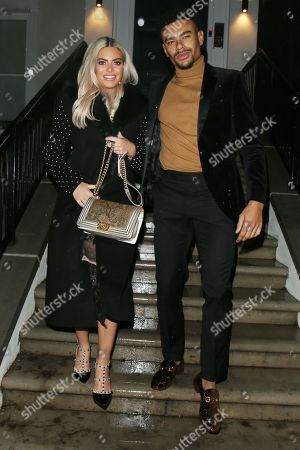 Megan Barton-Hanson and Wes Nelson out and about, London
