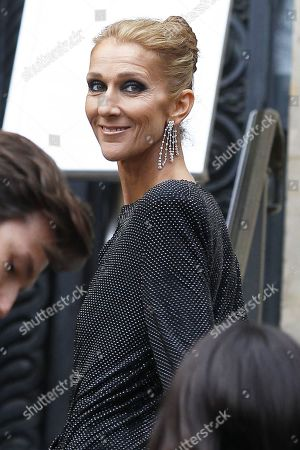 Celine Dion out and about, Haute Couture Fashion Week, Paris