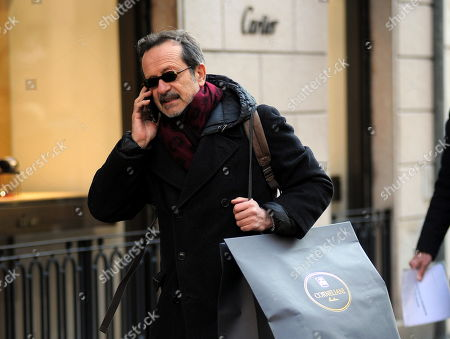 Rocco Papaleo out and about, Milan