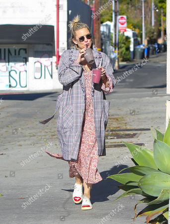 Editorial picture of Kate Hudson out and about, Los Angeles, USA - 22 Jan 2019