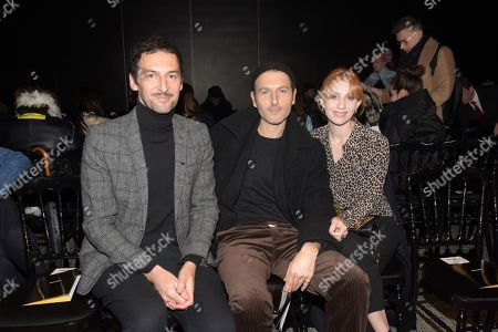 Editorial picture of Alexis Mabille show, Front Row, Spring Summer 2019, Haute Couture Fashion Week, Paris, France - 22 Jan 2019