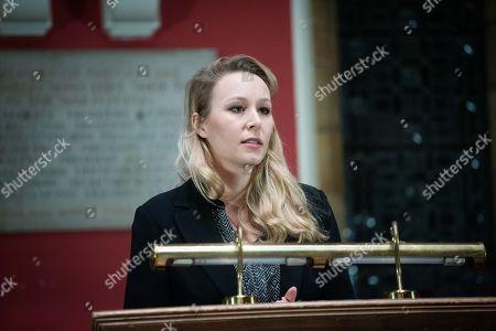 Stock Image of Marion Marechal-Le Pen