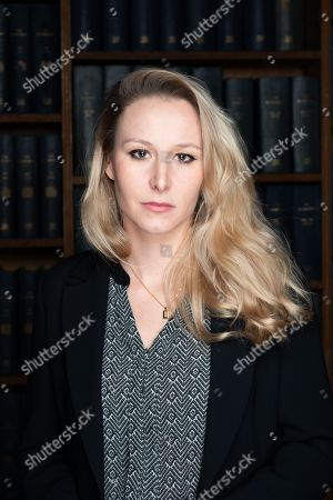 Editorial image of Marion Marechal-Le Pen speech at Oxford Union, UK - 22 Jan 2019