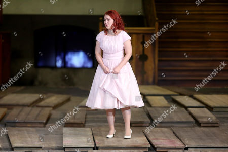 Venera Gimadieva performs in the role of Amina during a dress rehearsal at the Deutsche Oper for the opera 'La Sonnambula' by Vincenzo Bellini, in Berlin, Germany, 22 January 2019. The opera's run begins on 26 January.