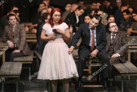 Editorial image of Dress rehearsal for the opera 'La Sonnambula', Berlin, Germany - 22 Jan 2019
