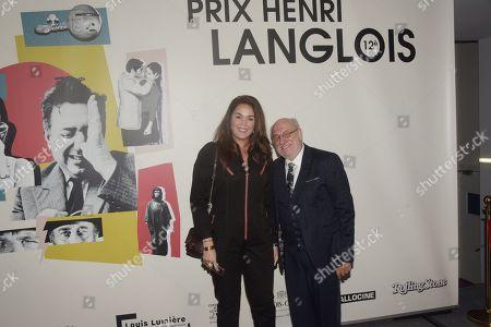 Lola Dewaere et Frederic Vidal