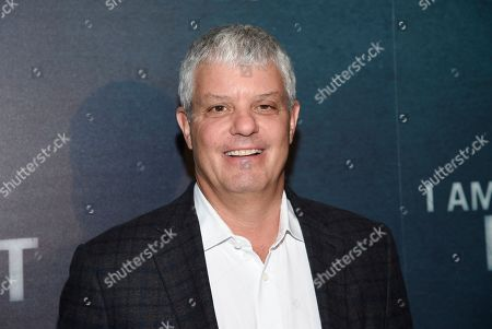 """Turner Broadcasting president David Levy attends the premiere of the TNT mini-series """"I Am the Night"""" at Metrograph, in New York"""