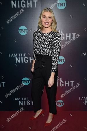 "Comfort Clinton attends the premiere of the TNT mini-series ""I Am the Night"" at Metrograph, in New York"