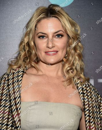 """Madchen Amick attends the premiere of the TNT mini-series """"I Am the Night"""" at Metrograph, in New York"""