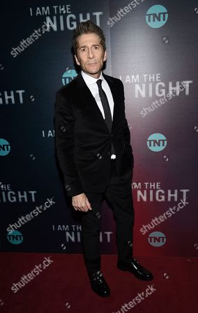 """Leland Orser attends the premiere of the TNT mini-series """"I Am the Night"""" at Metrograph, in New York"""